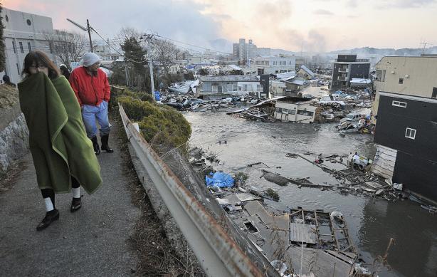 Ciudad arrasada en el noroeste de Japón. Fuente: ElPaís.com, vía Reuters